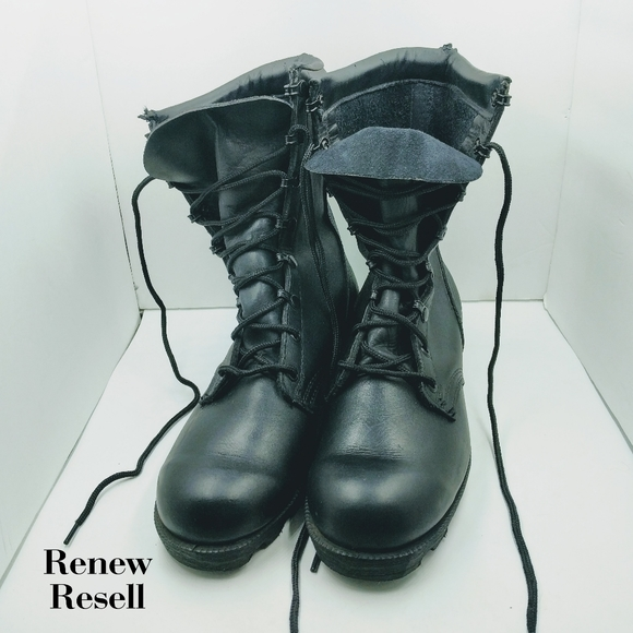 Vintage 6s Mens Leather Military Boots